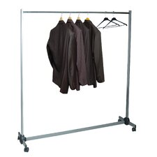 "Kos Lighting Meeting 61.8"" H x 59"" W x 19.67"" D Budget Garment Rack"