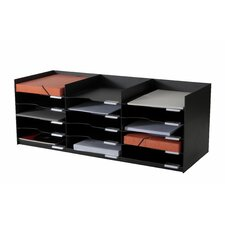 "EasyOffice 33.75"" Wide Stackable Horizontal Organizer"