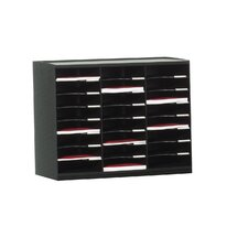 24 Compartment Master Literature Organizer