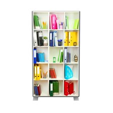 EasyScreen Bookcase Room Divider Sheet
