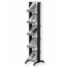 Small Single Sided Literature Display in Grey