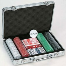 200 Piece 11.5g Poker Set with Aluminum Case