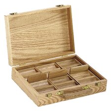 Casino Chip Case in Oak