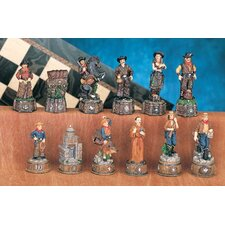 Wild Wild West Chessmen