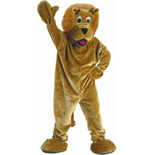 Roaring Lion Mascot Adult Costume Set