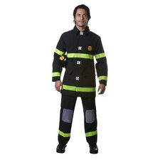 Adult Fire Fighter in Black