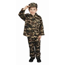 <strong>Dress Up America</strong> Deluxe Army Dress Up Children's Costume Set