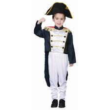 Colonial General Dress Up Children's Costume Set