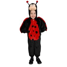 Cute Little Ladybug Children's Costume Set