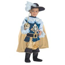 Deluxe Musketeer Children's Costume