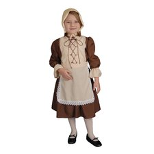 Colonial Girl Children's Costume