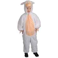 Plush Lamb Children's Costume