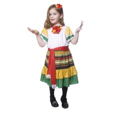 <strong>Dress Up America</strong> Mexican Dancer Children's Costume