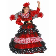 <strong>Dress Up America</strong> Flamenco Dancer Children's Costume
