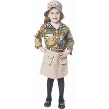 Safari Girl Children's Costume
