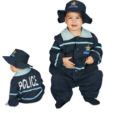 <strong>Dress Up America</strong> Baby Police Officer Costume Set