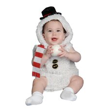 <strong>Dress Up America</strong> Baby Plush Snow Man Costume