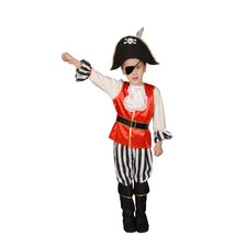 Deluxe Pirate Boy Children's Costume Set
