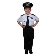 Children's Pilot Costume Set