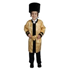 Kids Jewish Grand Rabbi Robe Costume