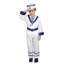 <strong>Dress Up America</strong> Deluxe Sailor Boy Children's Costume Set