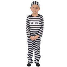 <strong>Dress Up America</strong> Kids Prisoner Costume Costume
