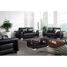 Contempo Leather Living Room Collection