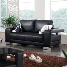 <strong>Tip Top Furniture</strong> Leather Loveseat