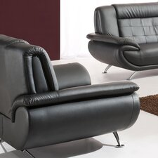 <strong>Tip Top Furniture</strong> Curve Leather Chair