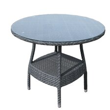 Windsor Round Glass Dining Table