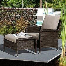 All Seasons Bronze Eton Lounge Chair with Cushion