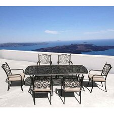 Sorrento 7 Piece Rectangle Dining Set