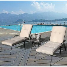 Sorrento Sun Lounger with Side Table