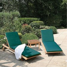 Club Sun Lounger with Side Table