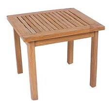Club Square Teak Side Table