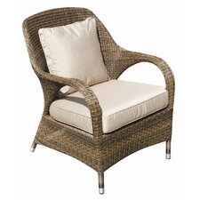 Sussex Lounge Armchair with Seat and Scatter Cushions