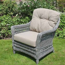 All Seasons Ash Paddock Lounge Armchair with Cushion