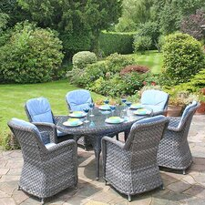 Oxford Oval 7 Piece Dining Set