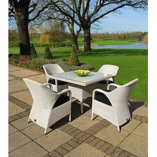 All Seasons Sussex 5 Piece Dining Table Set