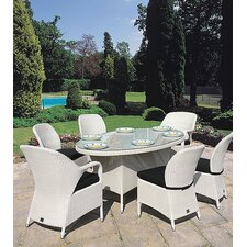 Sussex Oval 7 Piece Dining Set