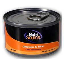 Chicken and Rice Canned Cat Food (5-oz, case of 12)