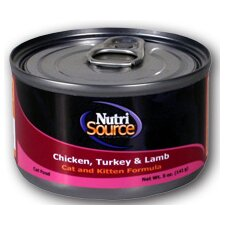 Chicken, Turkey and Lamb Canned Cat Food (5-oz, case of 12)