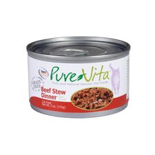 Grain Free Beef Stew Canned Cat Food (5-oz, case of 12)