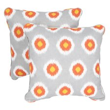 Stella Indoor/Outdoor Square Pillow (Set of 2)