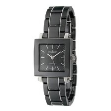 Women's Square Dial Watch in Black