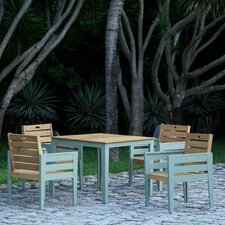 Florenity 5 Piece Square Dining Set