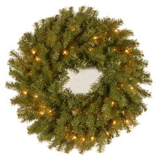 """Norwood 24"""" Fir Wreath"""