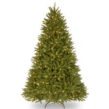 Belmar Fir 7.5' Green Artificial Christmas Tree with 750 Pre-Lit Clear Lights with Stand