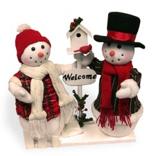 Plush Dual Snowman