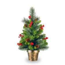 Crestwood Spruce 2' Green Small Artificial Christmas Tree